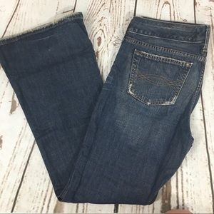 🌺New Abercrombie and Fitch Wide leg Denim Jeans